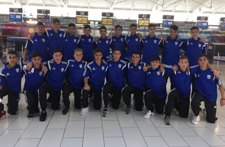 Πρώτη στην Αρμενία η Εθνική Παίδων U15