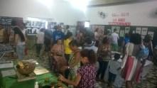 Cerca de 200 pessoas visitaram a exposição.