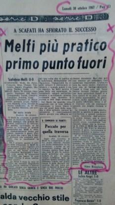 articolo Melfi