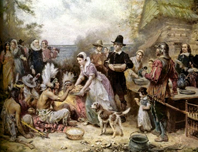 The-First-Thanksgiving-