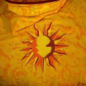 Embroidered Sun Cloak