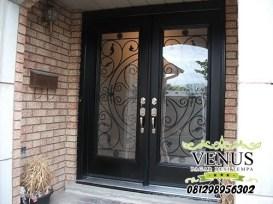 Pintu Besi Tempa Klasik (20)