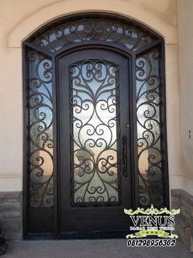 Pintu Besi Tempa Klasik (23)