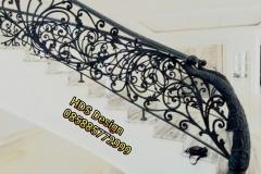 Railing-Tangga-Besi-Tempa-Klasik-Mewah-Modern-4