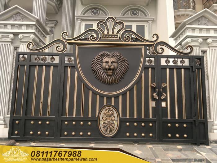 Pagar Pintu Gerbang Besi Tempa (46)