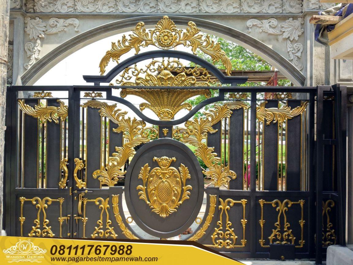 Pintu Besi Tempa Mewah (7)