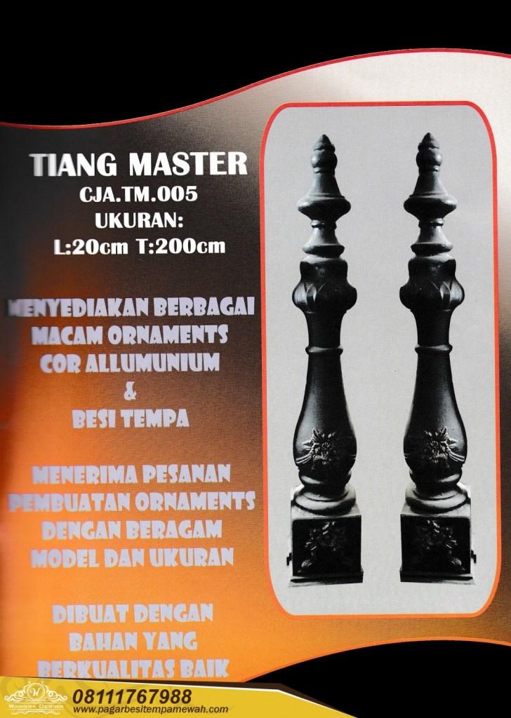 Tiang Master Besi Tempa (1)
