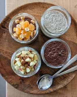 Vegan Gluten Free Chocolate Chia Pudding