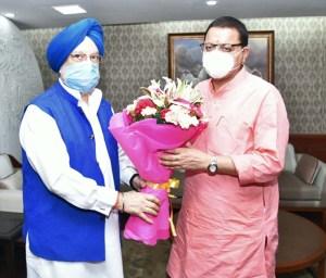 मुख्यमंत्री पुष्कर सिंह धामी