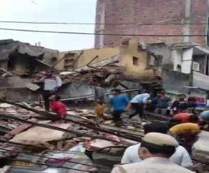 Delhi Buildings Collapse: