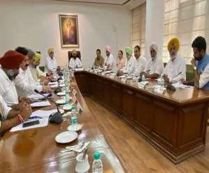Cabinet Meeting on Sidhu: