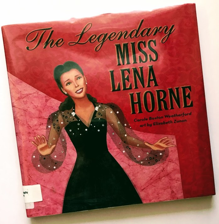 Legendary Miss Lena Horne Book Review