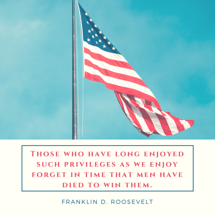 Memorial Day thought FDR