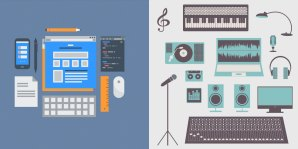 computer design tools and musical equipment