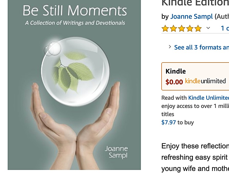 Be Still Moments Audiobook Editing