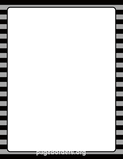 Paper And Black White Fall Border