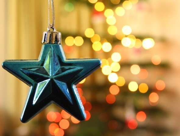 """Christmas ornaments - HBW"" by Bhavna Sayana is licensed under CC BY"
