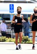 vanessa hudgens spotted leaving the gym with a friend in west hollywood 13. o 128w 186h