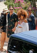 Alicia Vikander Spotted Having Lunch With Friends In Ibiza