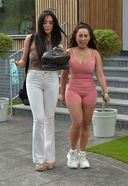 Charlotte Crosby And Sophie Kasaei Struggling With Their Luggage