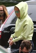 jennifer lopez tries to stay incognito as she arrives at the studio in miami 3. o 128w 186h