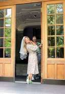 Sylvie Meis Returning Back From Her Night At A Luxury Hotel At The Baltic Sea