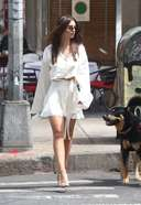 mily ratajkowski looks fierce in a stylish outfit while out for lunch in new york 13. o 128w 186h