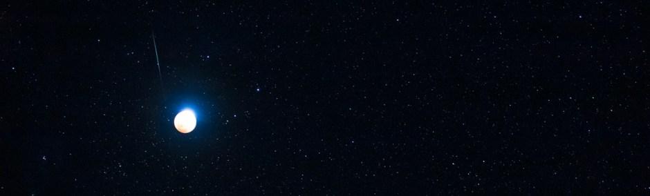 Meteor Over Mauna Kea
