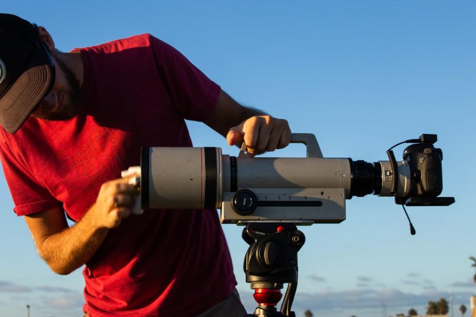 Lance Page 1200mm Time-lapse OB Pier San Diego.
