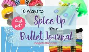 10 Ways to Spice Up Your Bullet Journaling