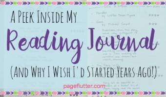 A Peek Inside My Reading Journal (& Why I Wish I'd Started Years Ago)