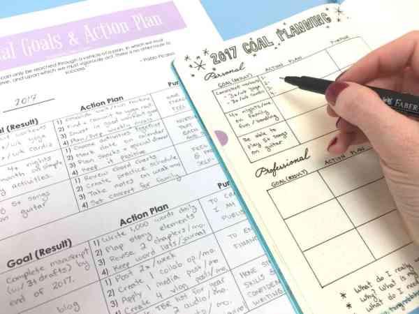 copy-goals-into-bullet-journal