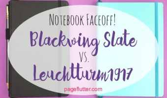 Notebook Faceoff! Blackwing Slate vs. Leuchtturm1917