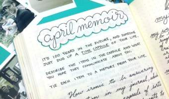 Monthly Memoir Prompts: Unlock Your Past Through Journaling