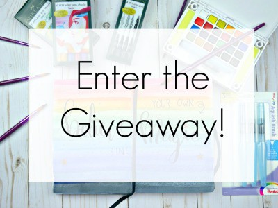 I'm giving away an HUGE art journaling starter kit. Don't miss this giveaway!