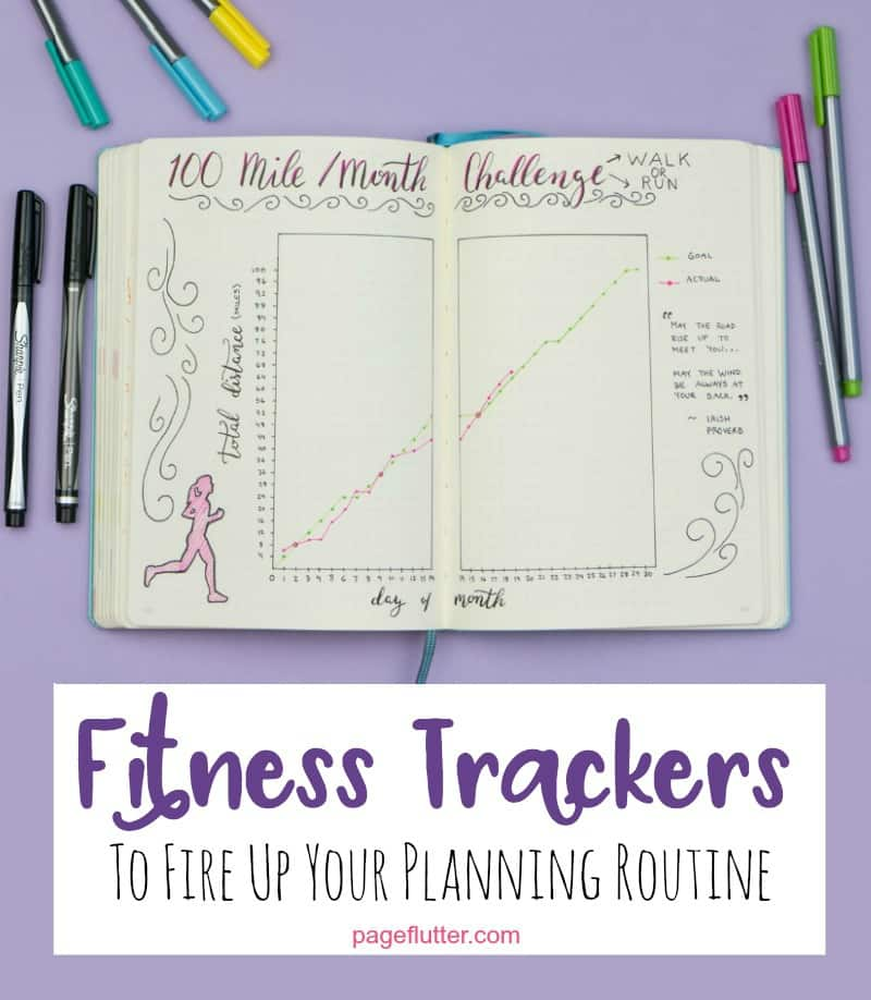 journal fitness trackers to fire up your planning routine page flutter