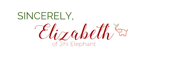 Elizabeth of Jihi Elephant Signature