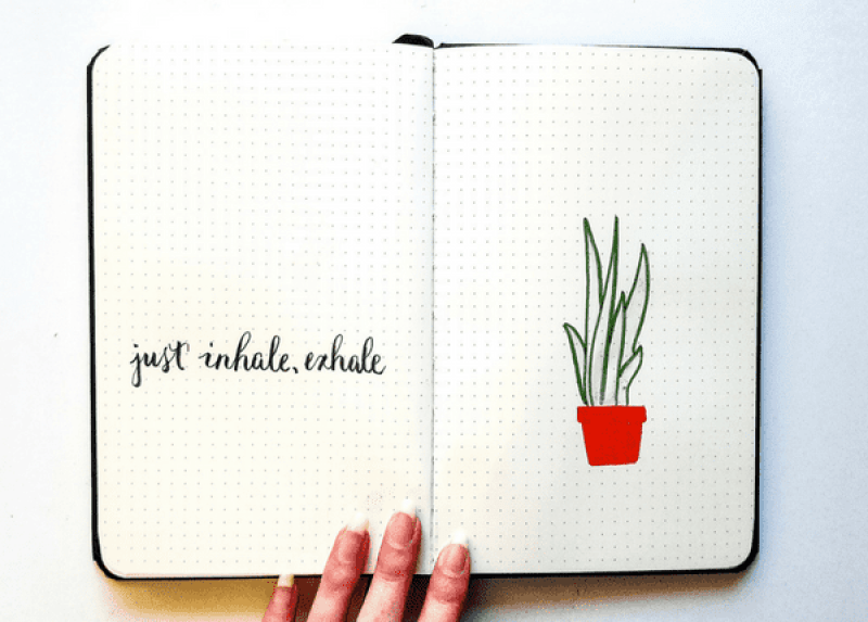 Fun journal doodle challenge for your Bullet Journal, planner, art journal, or sketchbook!
