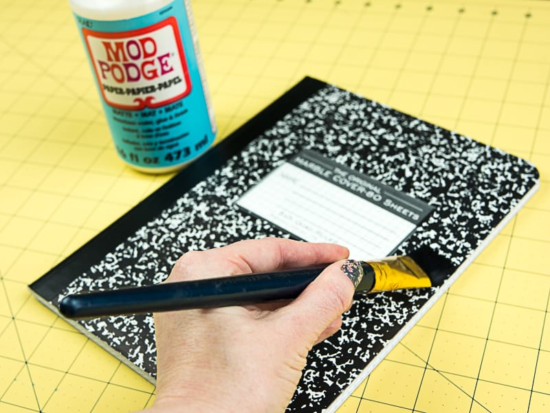 How To Turn A Composition Notebook Into A Stylish Diy