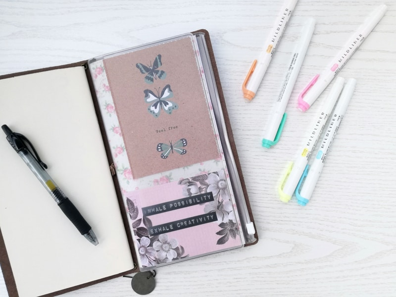 Traveler's Notebook accessories everyone should try! These make planning, Bullet Journaling, and Travel journaling a breeze!
