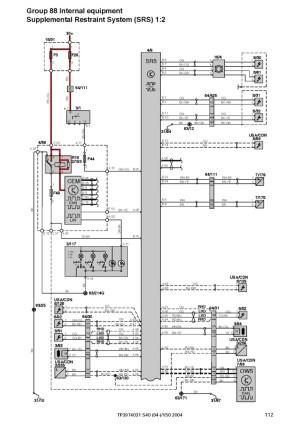 Volvo S40, V50, S60, S70, V70, C70, XC70, S80, XC90 Workshop Electrical Wiring Diagram 20042006