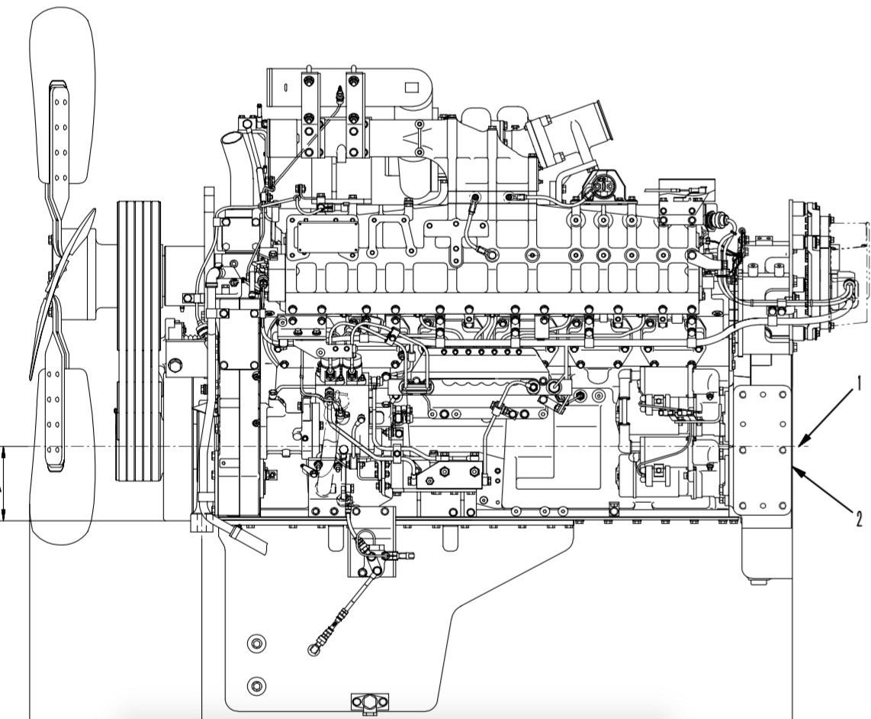 Komatsu 140 Series Engines Factory Service Amp Shop Manual