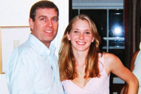Prince Andrew and Virginia Giuffre (nee Roberts)