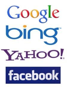 pay per click ad networks - Google, Bing, Yahoo, Facebook