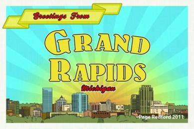 Grand Rapids Postcard 2