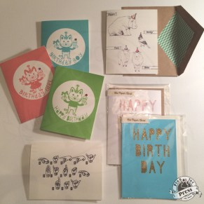 Various Greeting Card Designs