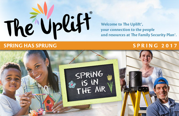 Celebrate spring with The Uplift