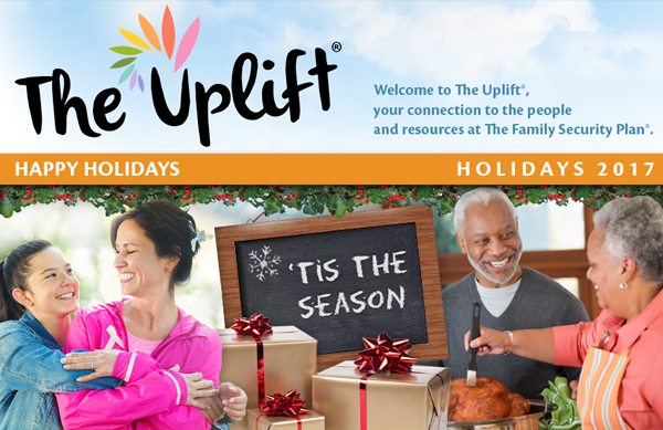 Celebrate the holidays with The Uplift!