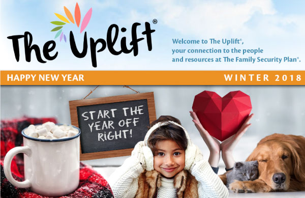 Happy New Year! Celebrate with The Uplift!