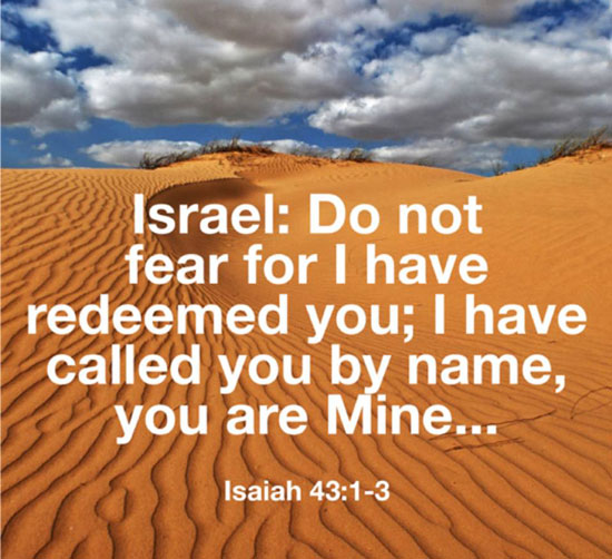 Isaiah 43: 1-3